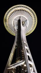 Space Needle by Night by vmulligan