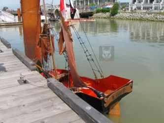 Worlds Smallest Pirate Ship by wolfwings1