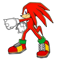 Knuckles the Echidna 2013 by Hypo-Thermic