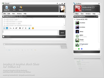 Inspirat for Trillian 3.1 by industrie13