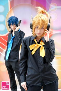 KAITO x Len - MAGNET by Onnies
