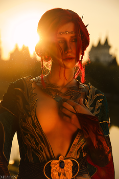 Triss Merigold cosplay ( Alternative outfit) by Likeassassin
