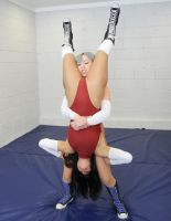 SAYA SAVAGE vs KAYLA LAEL # 8 by sleeperkid