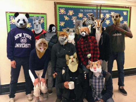 A Zoo Class Picture by MunaDrawsOn