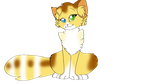 Leafpaw tail wag by Angelpaw33
