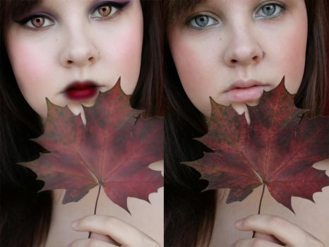 Before and After: Autumn Style by Aysha1994raven