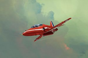 Hawk T1 Red Arrow by TK769
