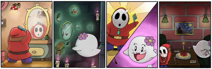 Shy Guy Adventures: The Big Date by TricksyWizard