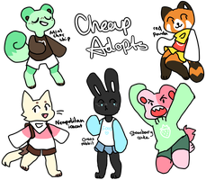 cheap kinda food adopts by ghosteau