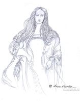 The White Lady of Rohan by Lauralorien