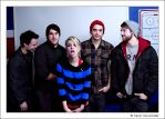 Paramore in a hockey room by henrimikael