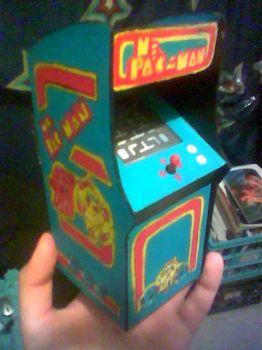 MINI Ms. PAC MAN machine by AOZcouture