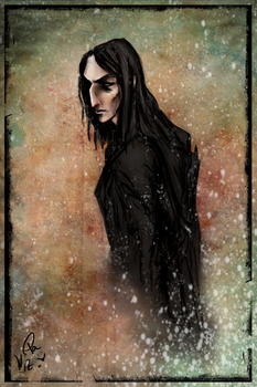 Harry Christmas, Snape by Vizen