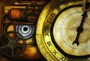 Time Traveler's Pocket Clock1 by nathanielwilliam