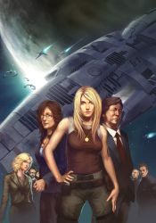 Battlestar Galactica Manga by UdonCrew