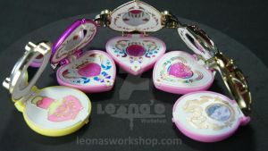 Customized Sailor Moon Compact Gashapons by LeonasWorkshop