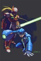 Megaman tribute by androsm