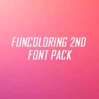 Funcoloring 2nd Font Pack by soundsofineedyou
