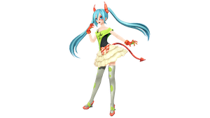 MMD - PDX DE-MONSTAR Miku + Update DL by luiz7429