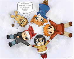 Bleach +Let's hold hands+ by starr-dream