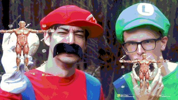 The Mario Brothers But THEY'RE EATING PEOPLE!!!!!! by DabbingBulma1999