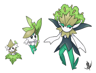 Male Flabebe line by jaeon009