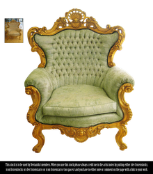 RESTRICTED - Victorian Chair by frozenstocks