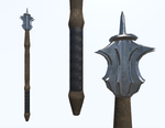Mace (Medieval Game Asset) by IamaGenious