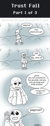 UT Comic: Trust Fall - Part 1 of 3 by AbsoluteDream