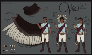 Reference Sheet: Ophiel by TenMomentsTill