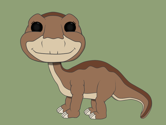 pops I wish funko would make!!! Little Foot by Kphgraphics