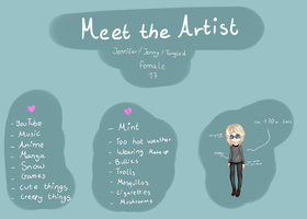 Meet the artist by TangIed