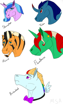 MLP Crackship Adopts Available by MonteSwigartArts