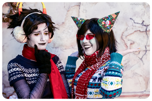 Winterstuck Kanaya and Terezi Cosplay by Sioxanne