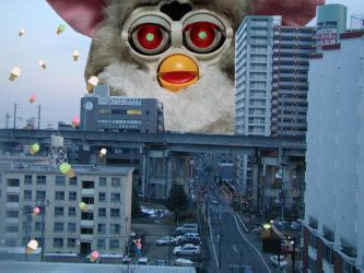 furby attack by negativespace341
