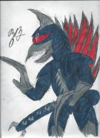 Gigan by TheZackBurg