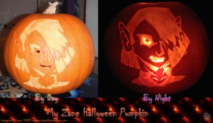 -Zane Halloween Pumpkin- by Silvolf