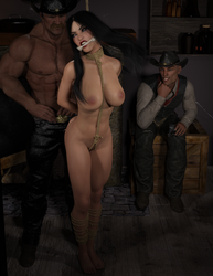 Kunlun Cowgirl - Part 2 Hard-on at the O.K. Corral by Lespion1944