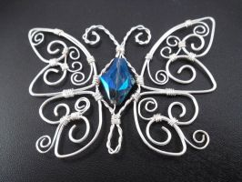Crystal Butterfly by SerenityinChains