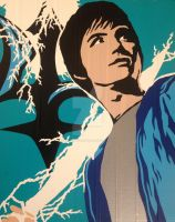 Percy Jackson Duct Tape Art by DuctTapeDesigns