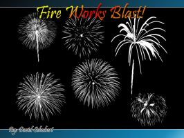 Fire works Blast Brushes by Daveshu88