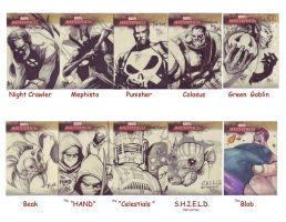 More Sketch cards... by Shadowgrail