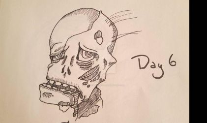 INKTOBER Day 6: Drool by MaliceInTheAbyss