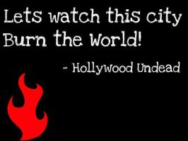 Hollywood undead City by sweetstuff96