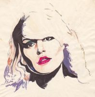 Debbie Harry sketch by DesperateMe