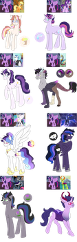Twilight's Offspring Auction[OPEN] by DreamCloudAdopts