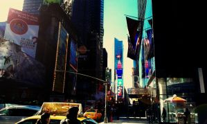 Times Square by elicen