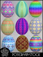 Easter Eggs 002 by poserfan-stock