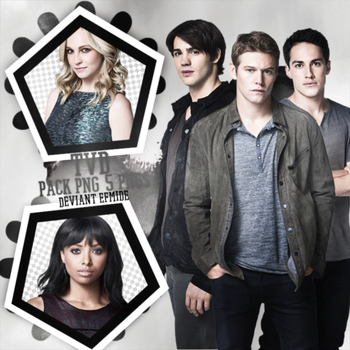 The Vampire Diaries (TDV)  5 HQ Png Pack by efmide