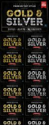 Gold and Silver 6 - Text Styles by ivelt